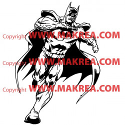 Sticker Batman courant