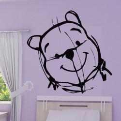 Winnie l'ourson Esquisse Crayon - Tête
