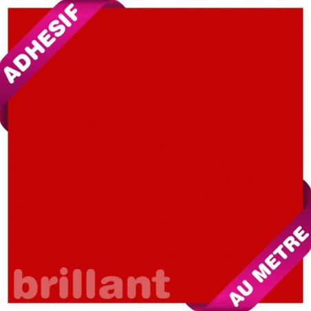 Rouge Bordeaux Brillant / Adhésif au mètre