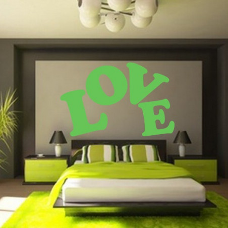 Lettrage LOVE Design