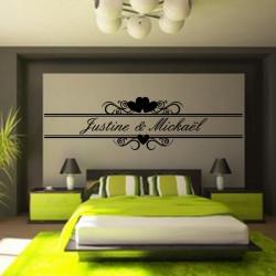 Personnalisez votre produit Sticker Licorne Tourbillon d'Etoiles - Taille - 43x40cm