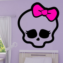 Sticker Tête Monster High 2 couleurs