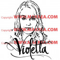 Sticker Violetta - Ludmila