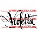 Sticker Violetta - Logo