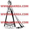 Sticker La Reine des Neiges - Elsa Robe