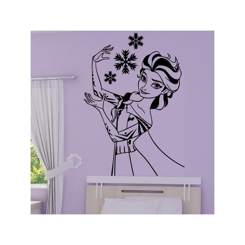 Sticker La Reine des Neiges - Elsa Buste