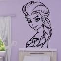 Sticker La Reine des Neiges - Elsa Portrait