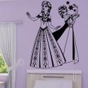 Sticker La Reine des Neiges - Elsa & Anna les soeurs