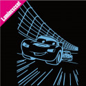 Sticker Luminescent Cars Circuit