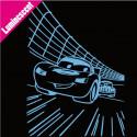 Sticker Luminescent Cars Circuit
