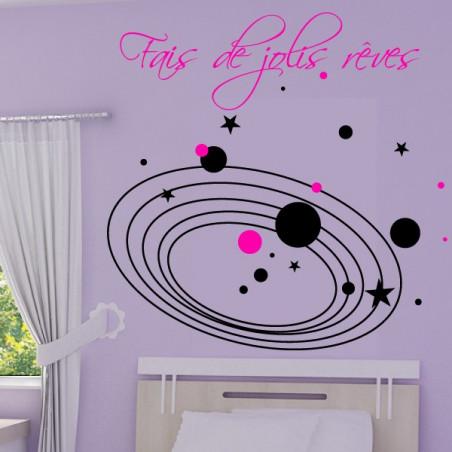 Fais de jolis rêves Système Solaire Etoiles
