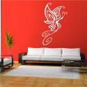 Sticker Papillon Design de côté