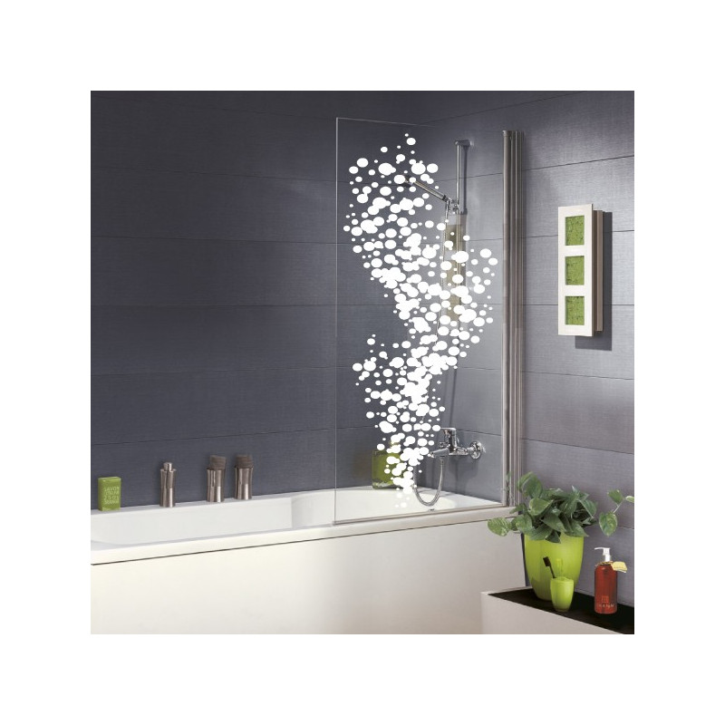 Sticker salle de bain bulles d 39 air for Stickers carrelage salle de bain
