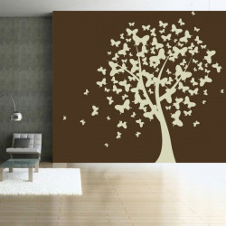 Sticker Nature - L'arbre aux Papillons