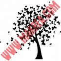 Sticker Nature - L'arbre aux Papillons