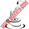 Sticker Cuisine - Tasse à café Love