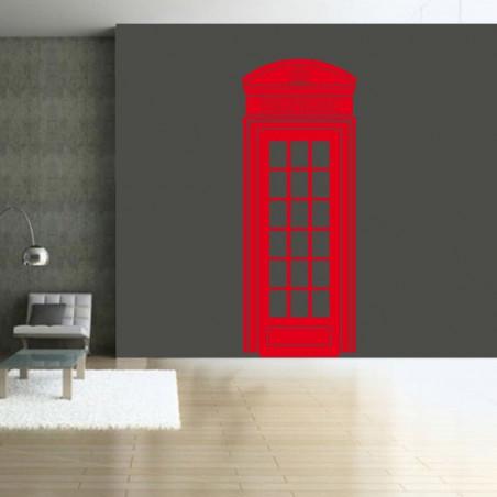 Géant Cabine Téléphonique Londres Couronne Angleterre