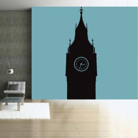 Géant Londres - Big Ben Silhouette