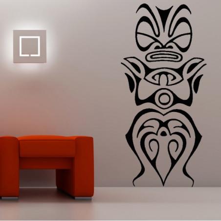 Tiki statue Polynésienne