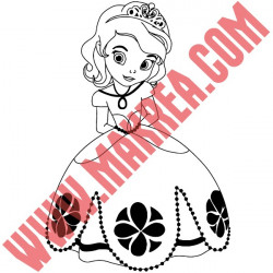 Sticker Princesse Sofia