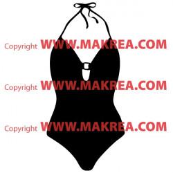 Sticker Maillot de bain Femme