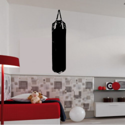 Sticker Sac de Boxe