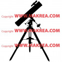 Sticker Jumelle Téléscope
