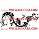 Sticker Ornement Floral