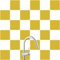 Stickers pour Carrelage Unis BRUN CLAIR