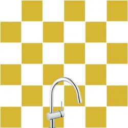 Stickers pour Carrelage Unis MARRON CLAIR