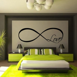 Sticker Symbol Infini Love