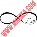 Sticker Symbol Infini Love