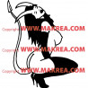 Sticker Personnage Diablesse