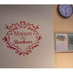 Sticker Ornements Maison du Bonheur