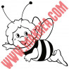 Sticker Maya l'abeille