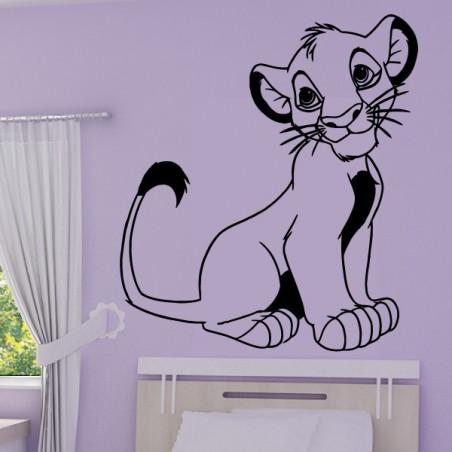 Roi Lion - Lionceau Simba Assis