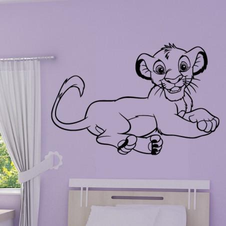 Roi Lion - Lionceau Simba Allongé