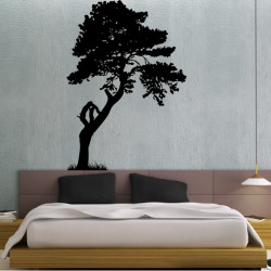 Sticker Nature - Arbre Pin Maritime