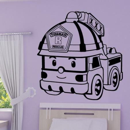 Robocar Poli - Roy Camion Pompier