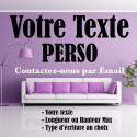 Sticker Texte Personnalisé