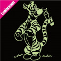 Sticker Luminescent Tigrou Chenille