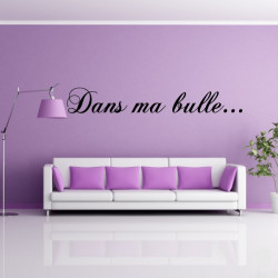 """Texte """"Dans ma bulle ..."""""""