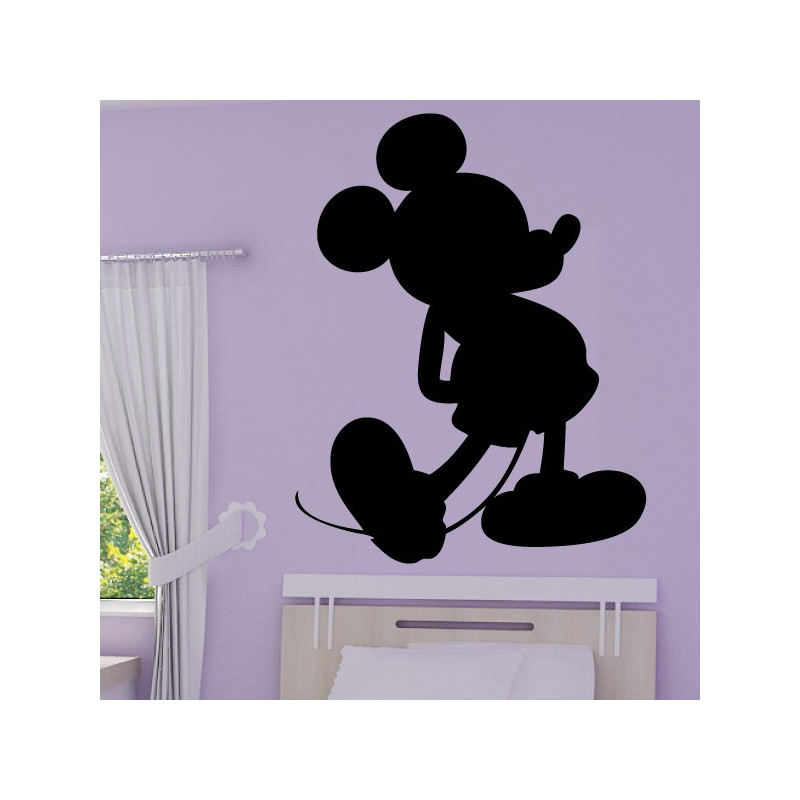 Sticker Mickey - Silhouette