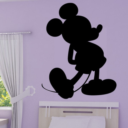 Sticker Mickey Silhouette