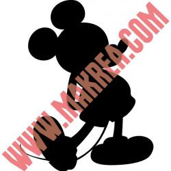 Sticker Mickey - Silhouette