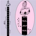 Sticker Règle de croissance Princesse Sofia