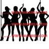 Sticker Femmes Strip-tease