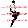 Sticker Femme nue sexy 2