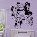 Sticker Princesses Disney