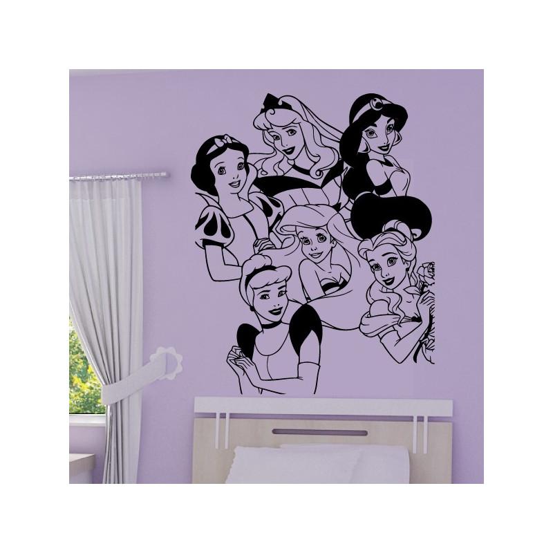 Sticker Princesses Disney